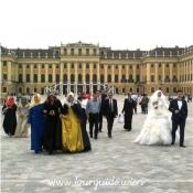 1130 - Schönbrunn, Brautpaar