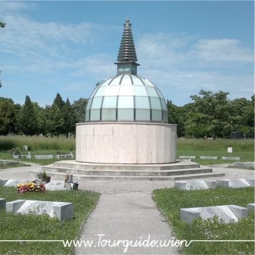 1110 - Zentralfriedhof, Stupa