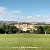 1130 - Schönbrunn, Blick von Gloriette